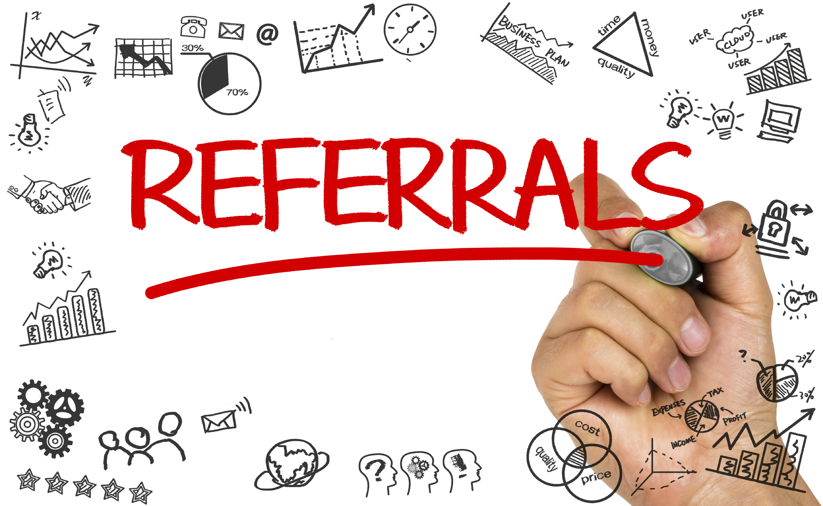 putting real estate license on referral